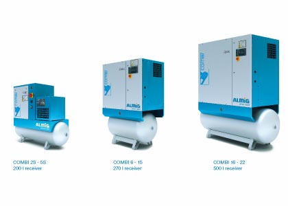 Combi Series Screw Compressors Almig